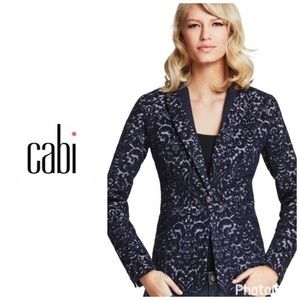 Cabi NWT Wool blend jacquard blazer-2 for sale